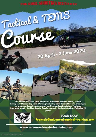 Tactical Firearm & TEMS Course